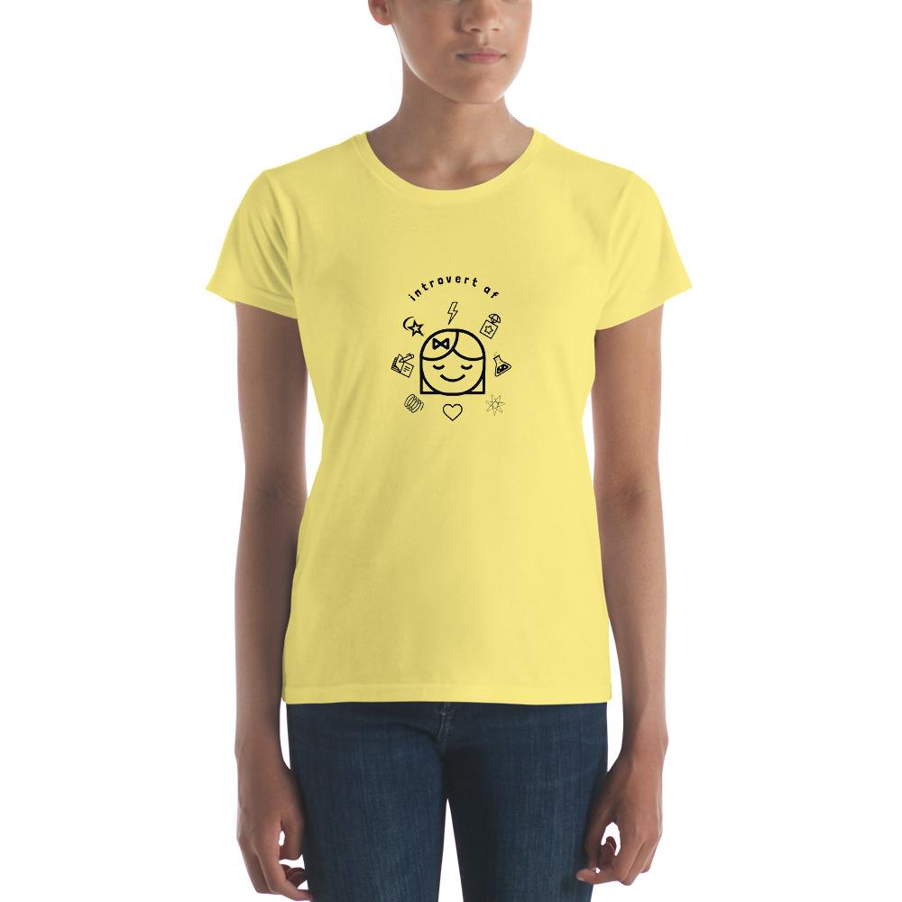 Introvert AF T shirt