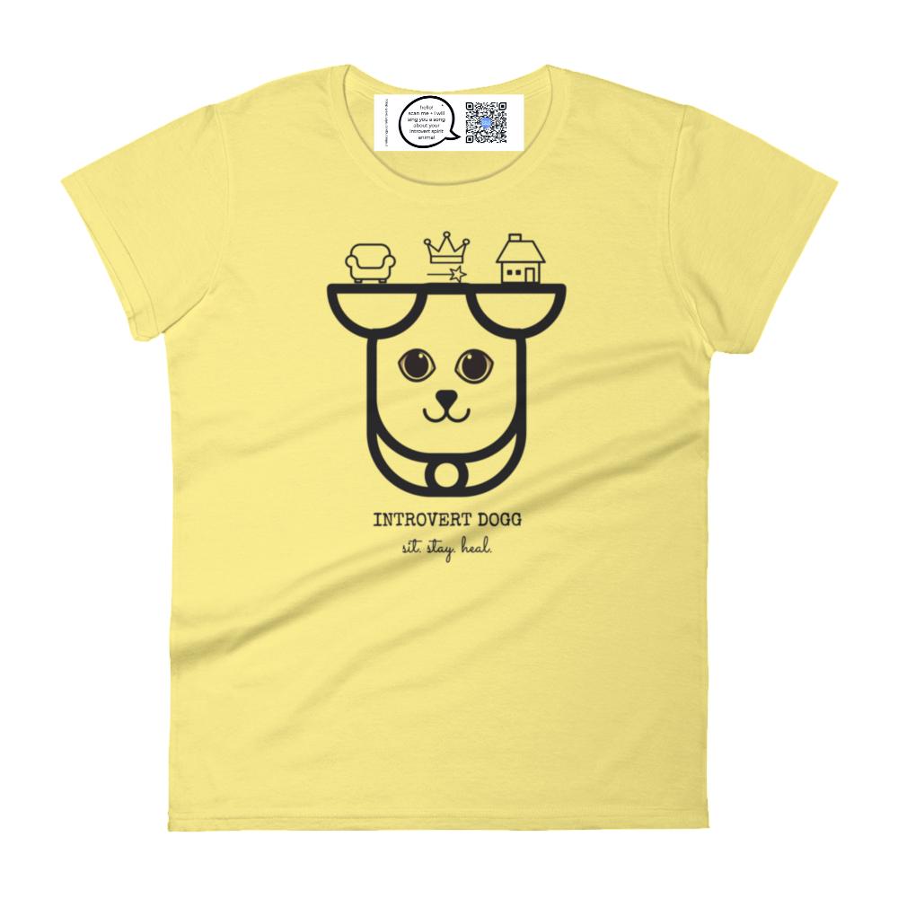 canine introvert spirit animal dog t shirt