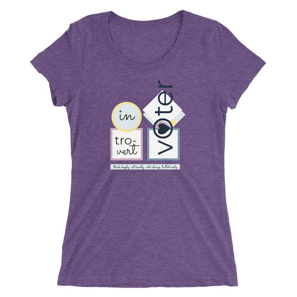 Introvert Voter T Shirt