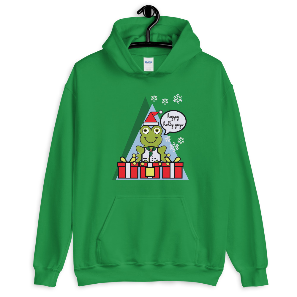 holiday sweatshirts for women and men green variation