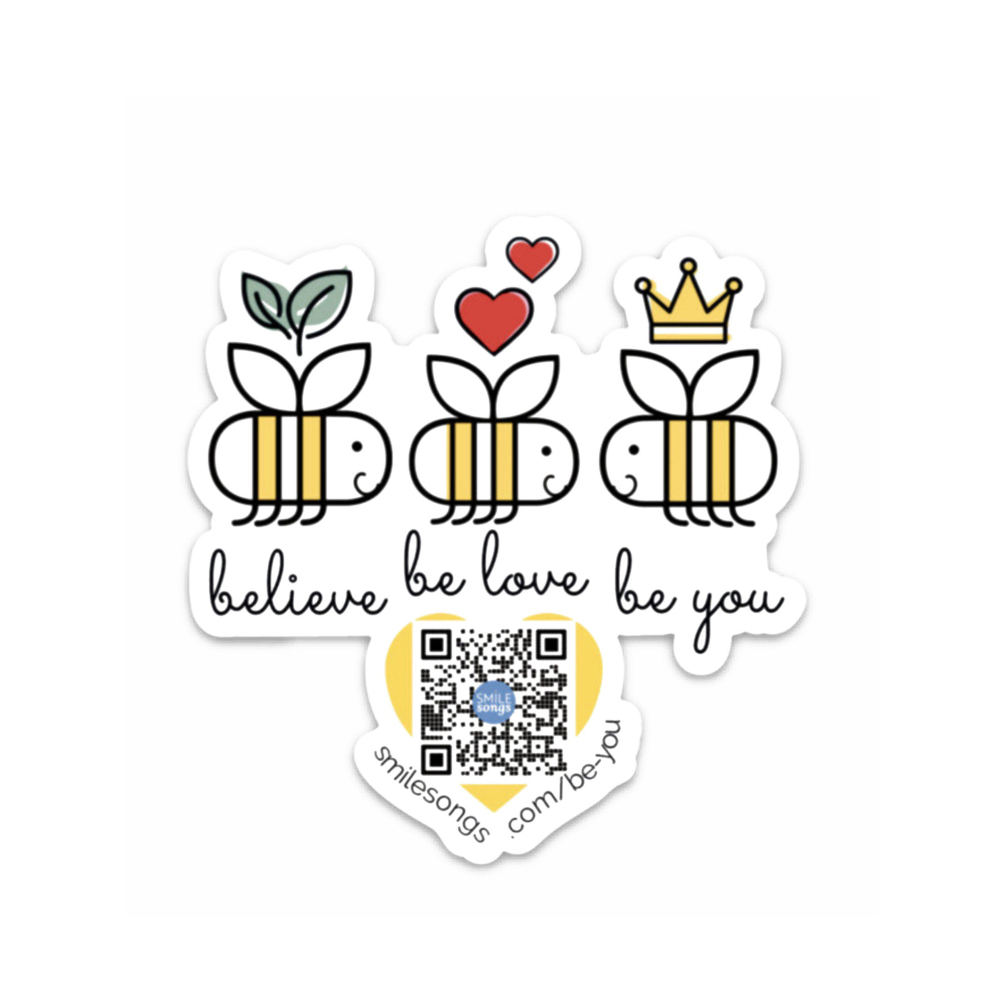 believe be love be you sticker