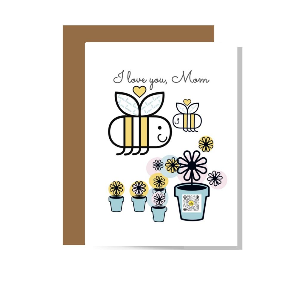 mothers day card sings smile songs we op